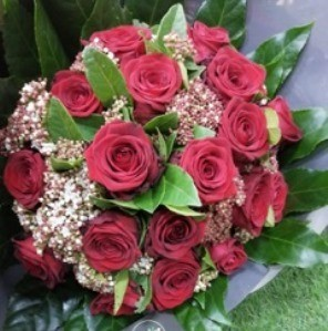 bouquet roses rouges saint valentin